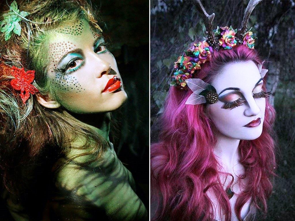 Фото макияжа вампира на хэллоуин