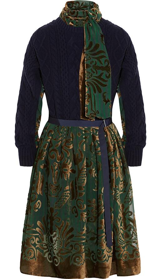 Платье на осень и зиму