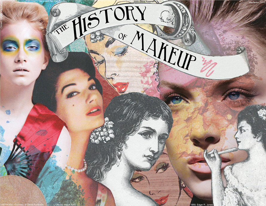 essays on the history of makeup Makeup is often regarded as a feminine indulgence, however existing research disproves such an accusation in 2010 the university of bristol found much like the neanderthals, egyptian males' masculinity was never compromised by their use of makeup eye makeup is said to have been used.