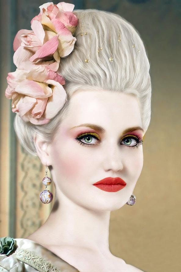 косметика период рококо