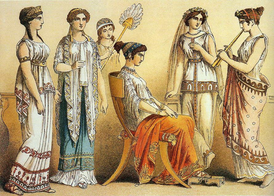 Всемирная история косметики