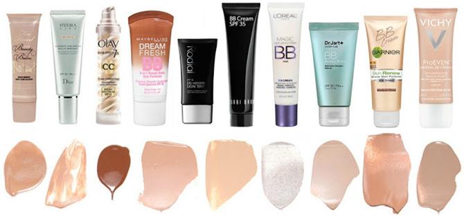 ВВ-крема разных брендов