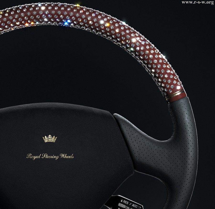 Дизайнерский руль для авто