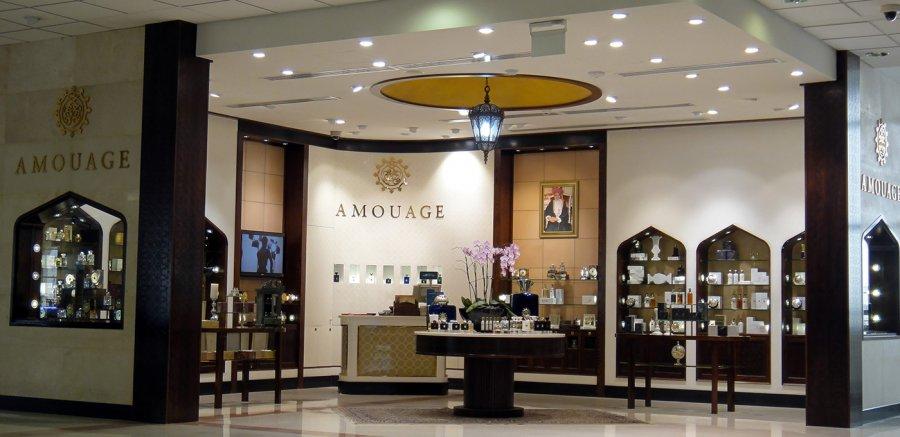 Магазин Amouage