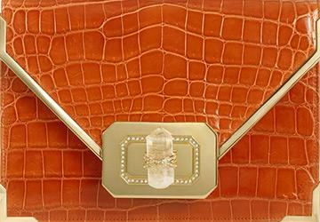 Желтые и оранжевые сумки 2014-2015