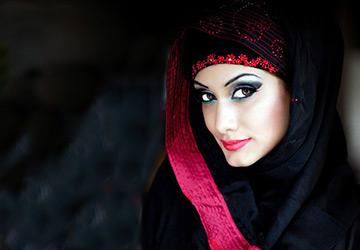 Арабское платье абайя