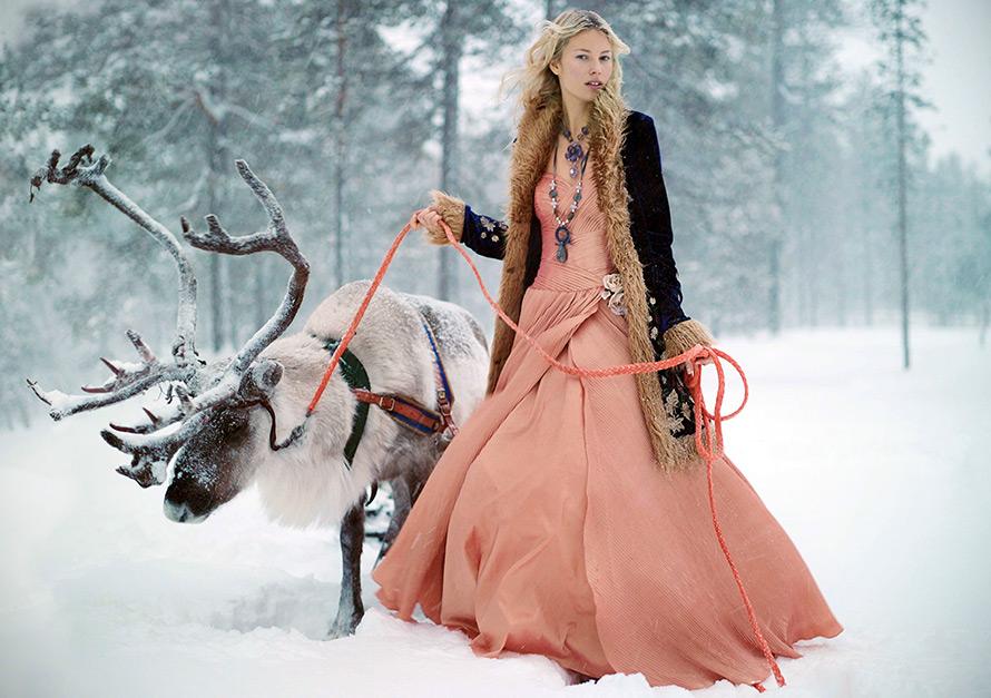 как одеться красиво зимой фото