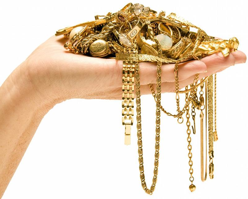 картинки золотые украшения