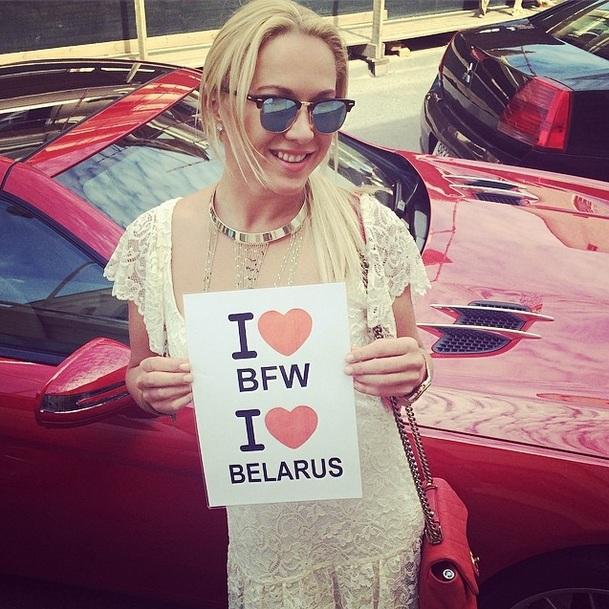 Девиз Белорусской недели моды