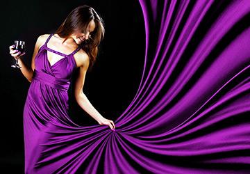 Ткани для новогодних платьев