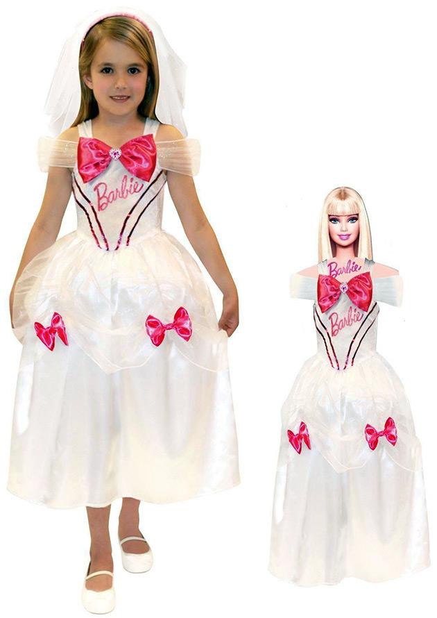 Детское платье в стиле Барби