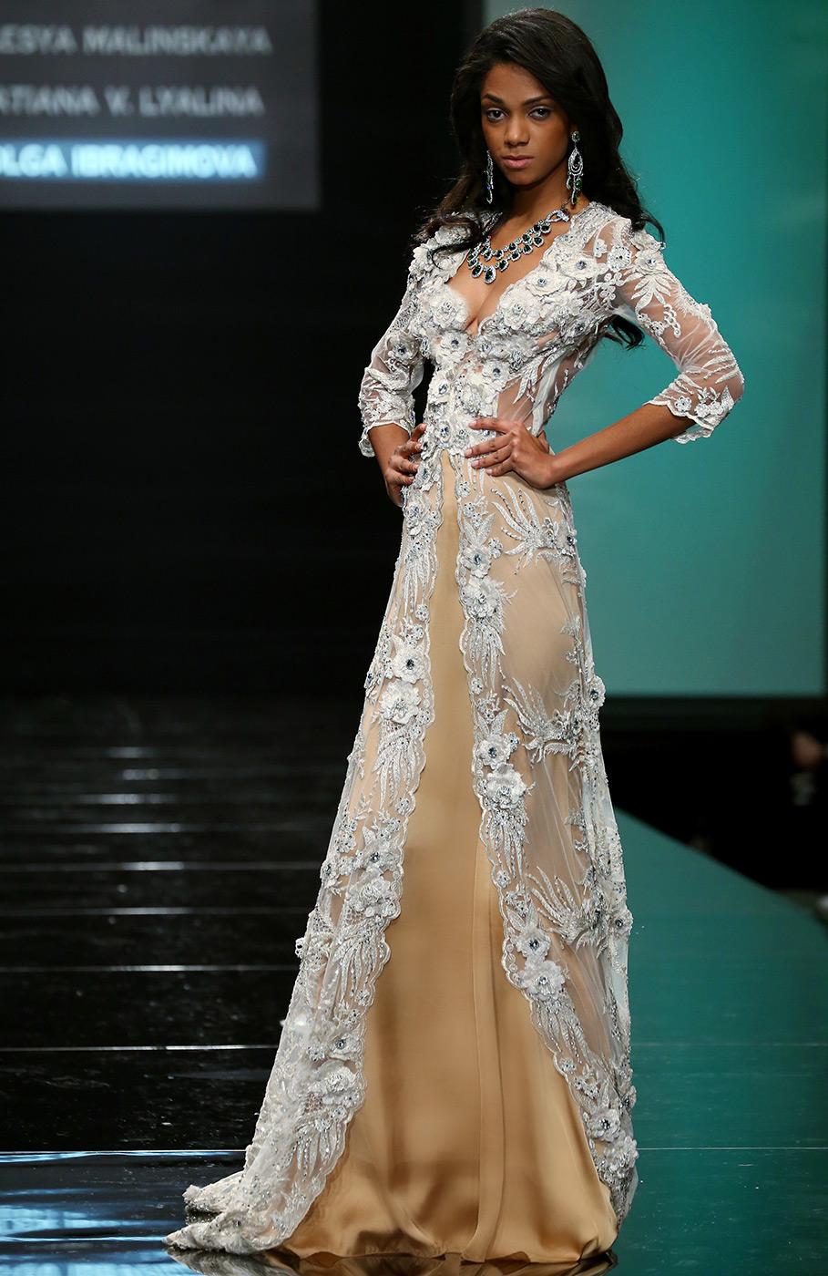 98351435f6c1db8 Вечерние платья 2015 от российских дизайнеров