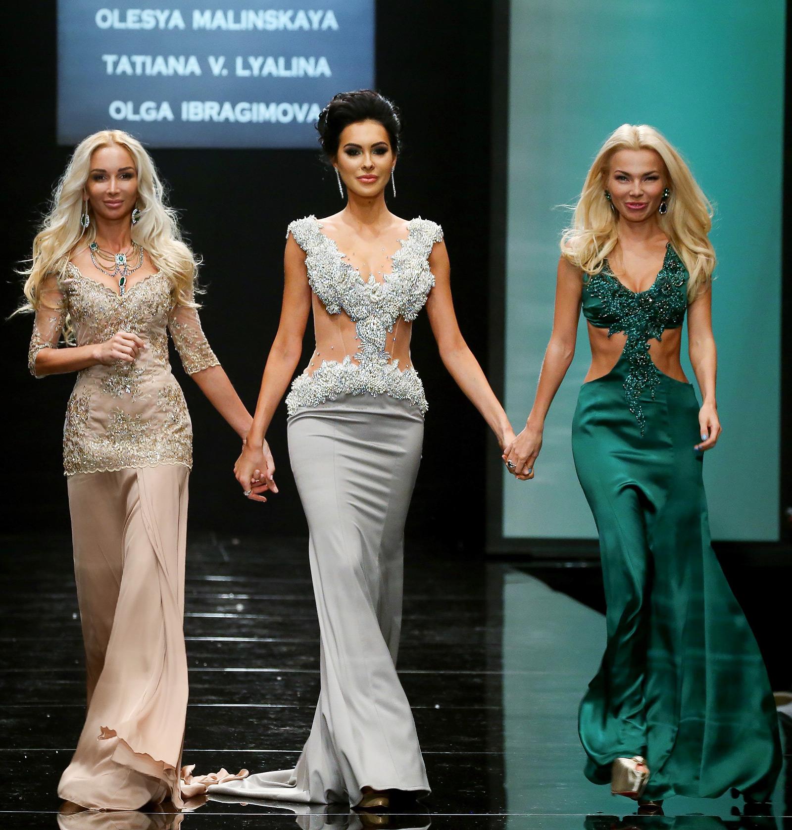 Вечерние платья 2015 от российских дизайнеров 52ab6afceef