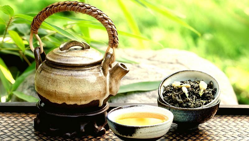 Тоник  с зелёным чаем