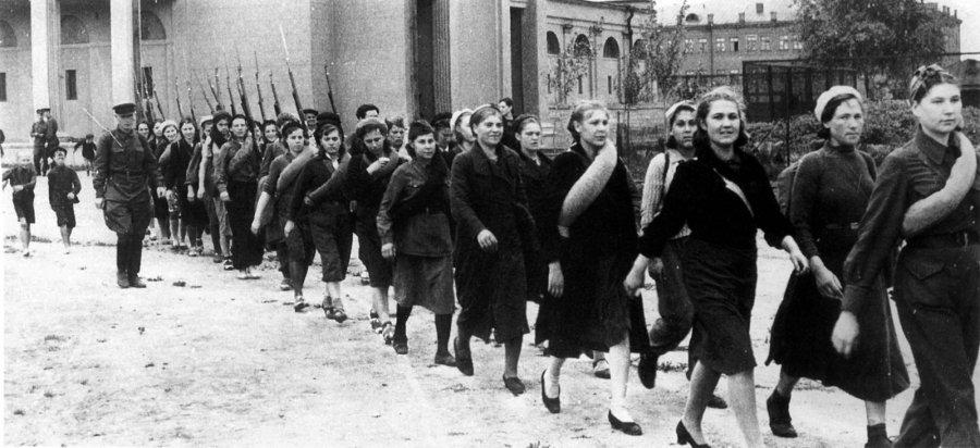 Советские женщины Второй мировой войны