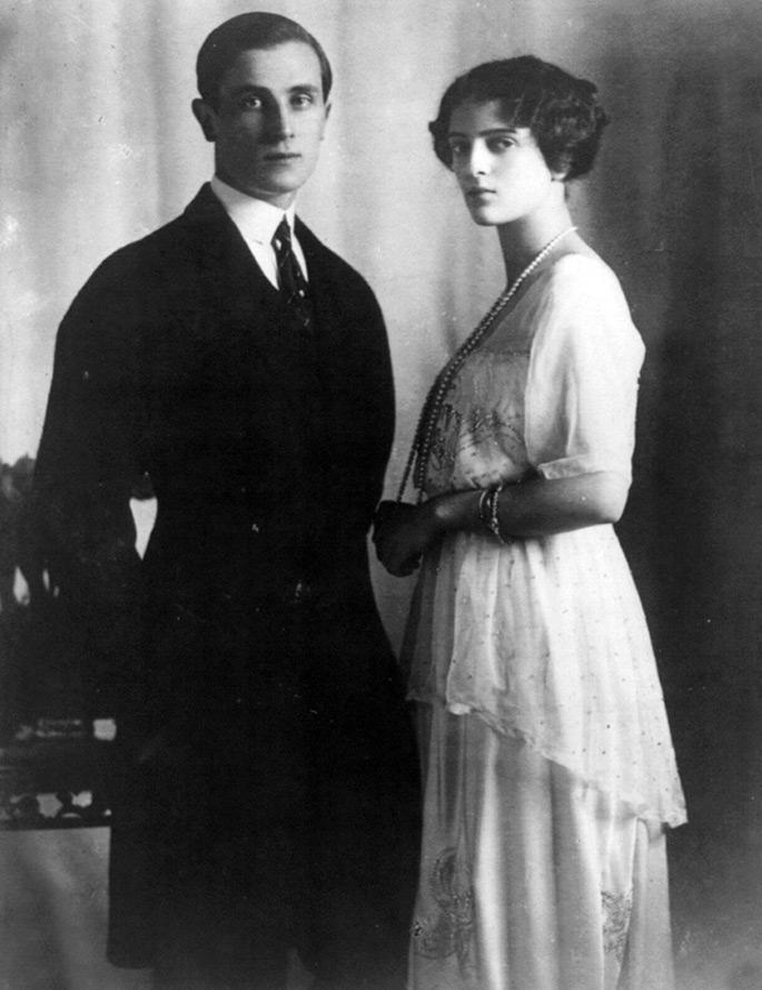 Феликс Юсупов и Ирина Александровна