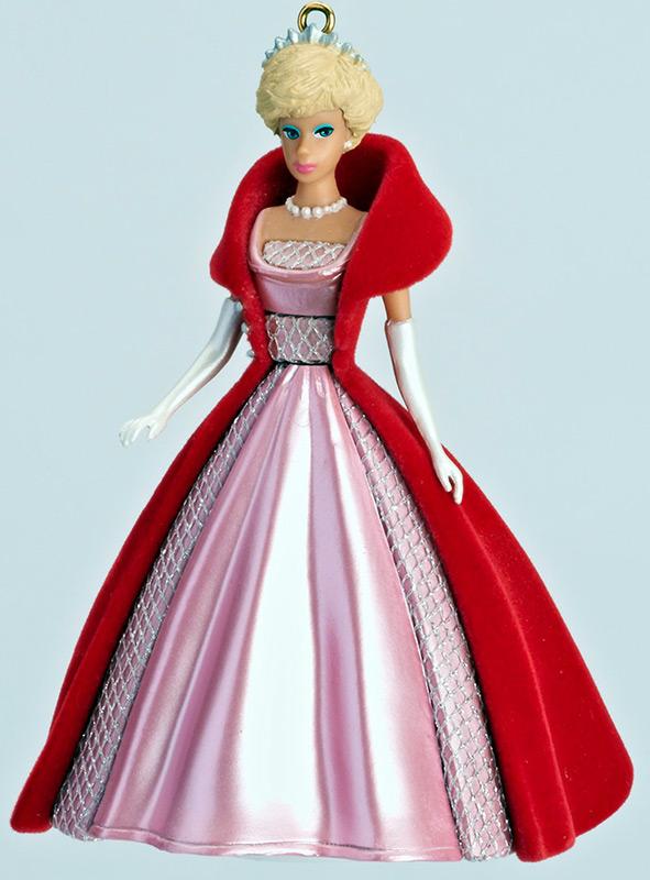 Новогодняя кукла Барби – украшение