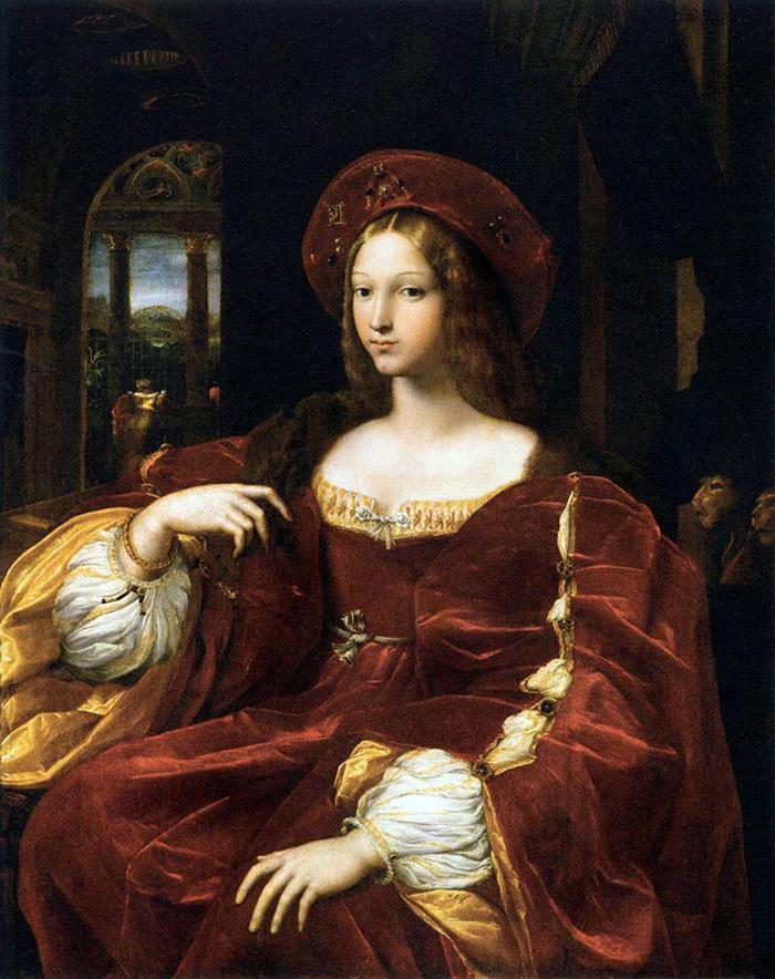 Девушка в платье из бархата