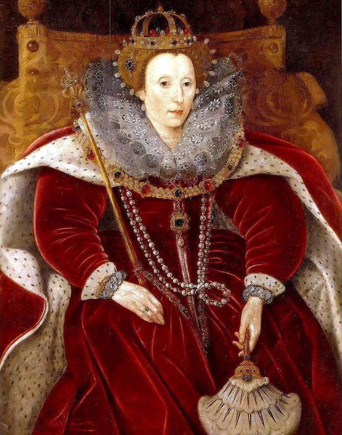 Английская королева в Бархате