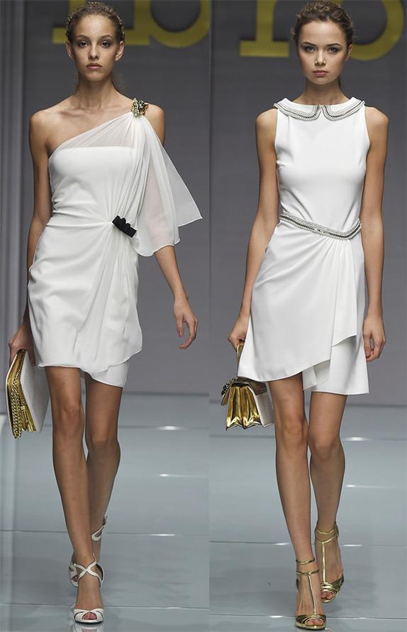 Белые платья на весна лето