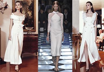 Белые платья весна-лето 2015