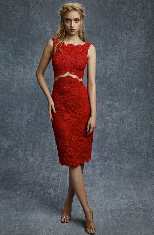 Красное платье, фото