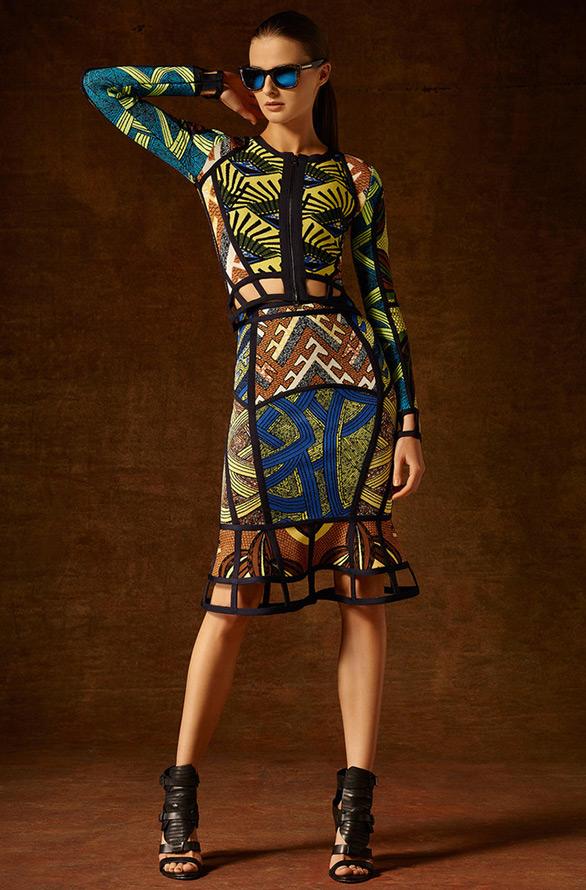 Платье Herve Leger by Max Azria