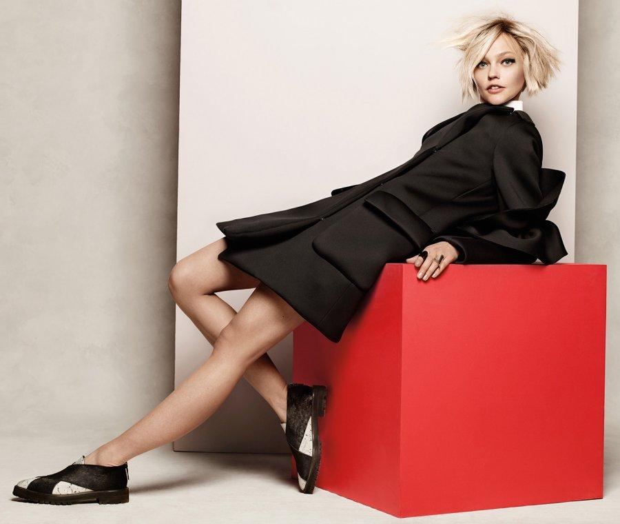 Саша Пивоварова для Vogue Korea