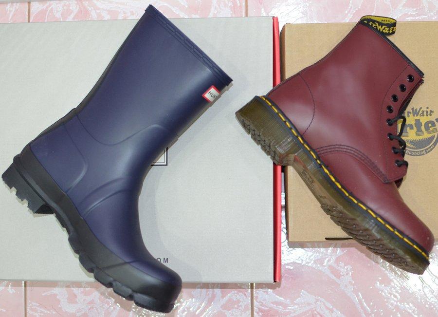 Мужские сапоги и ботинки