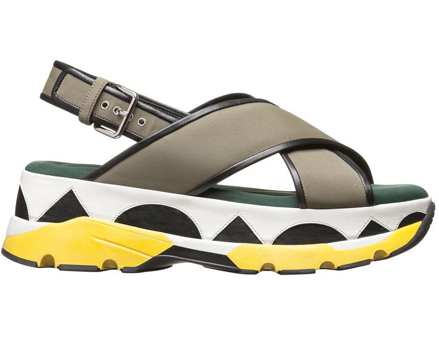 Обувь на платформе весна-лето 2015