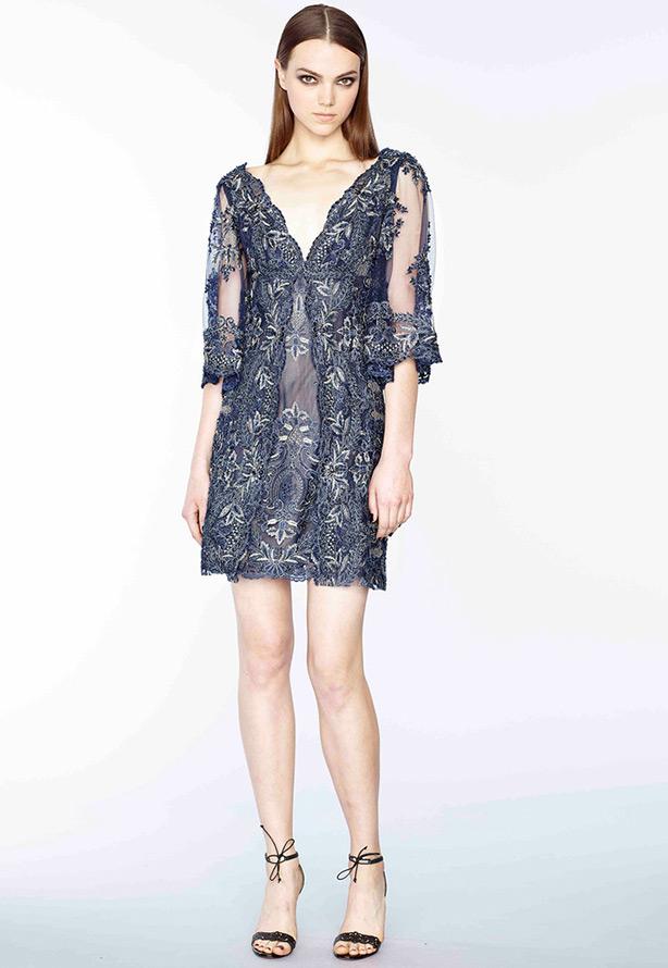 Межсезонная коллекция платьев Marchesa