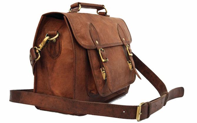 Кожаная сумка для фотоаппарата