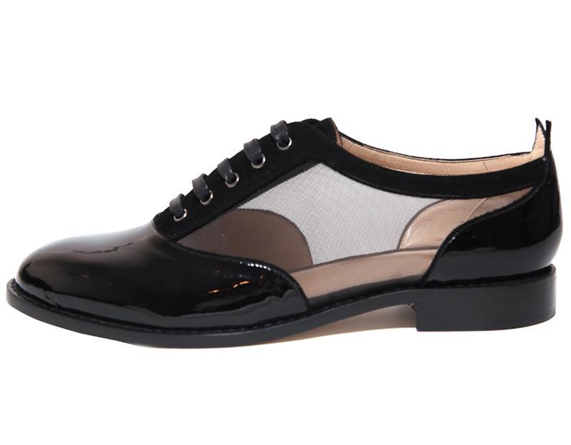 Женская обувь в мужском стиле