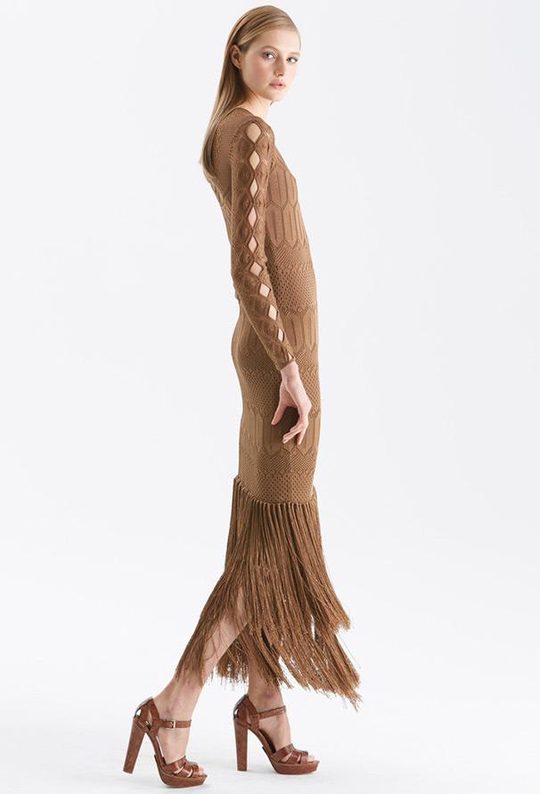 Вязаное платье, фото