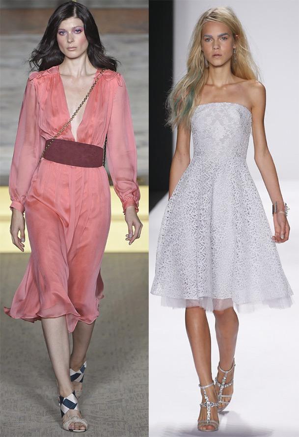Платья на весну и лето