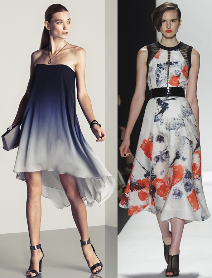 Красивые модные платья, фото