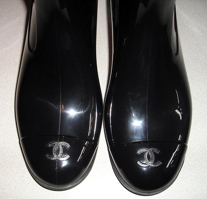 резиновые сапоги Chanel