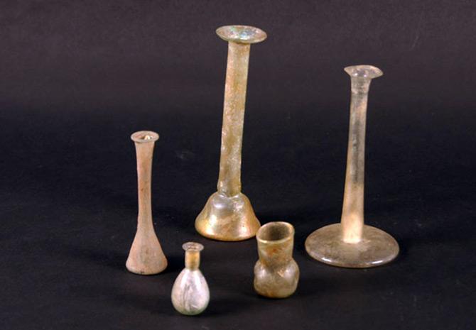 Римские флаконы для парфюмерии