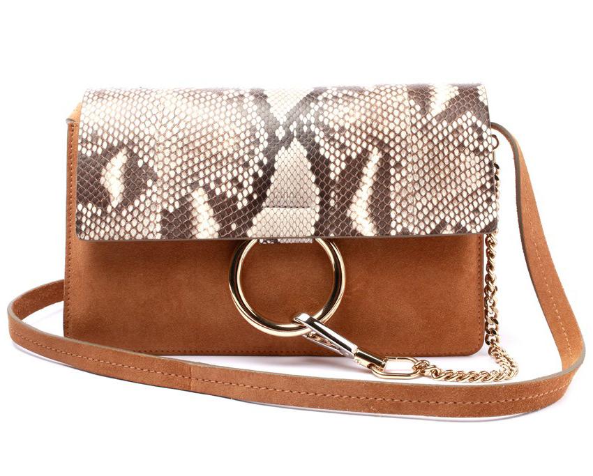 Коричневая сумка Chloe