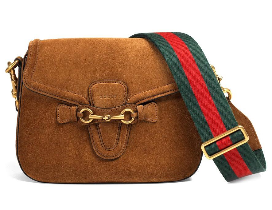 Коричневая сумка Gucci