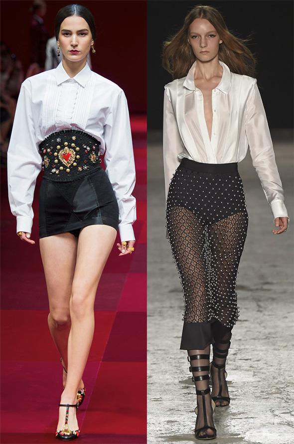 Модные женские блузки весна-лето 2015