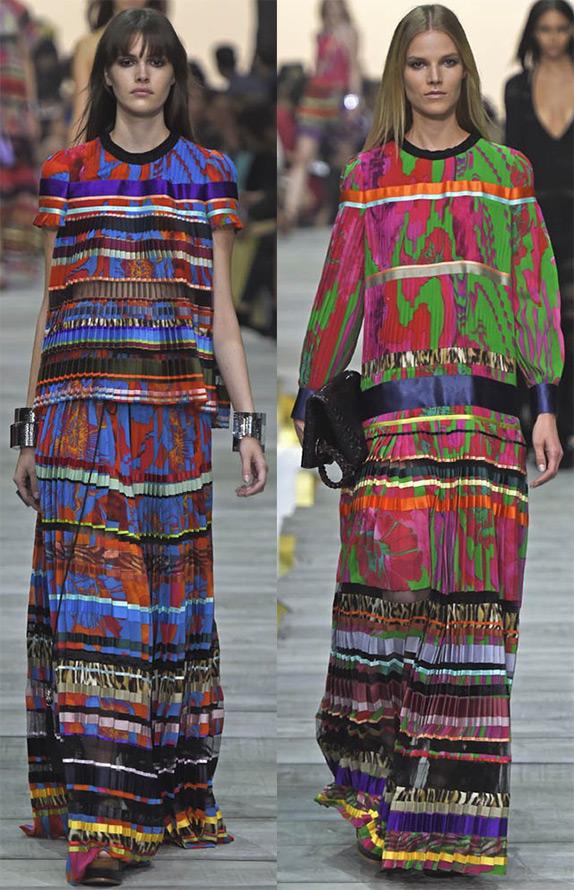 Яркие платья весна-лето 2015