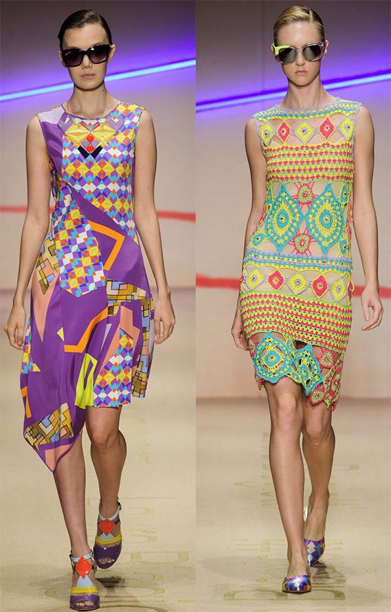 Laura Biagiotti яркие платья
