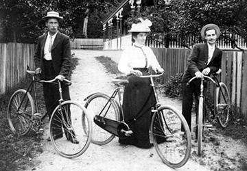 Стиль модерн в одежде 1895-1900