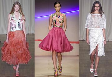 Модные юбки весна-лето 2015