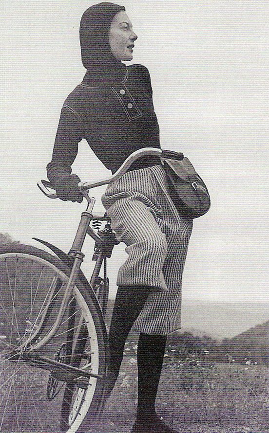 Укороченные женские брюки кюлоты