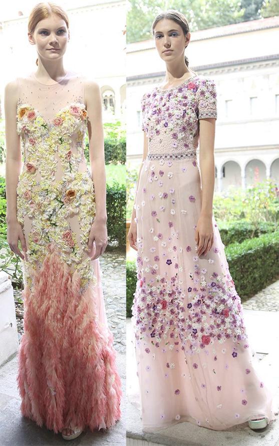 Вечерние платья весна-лето 2015