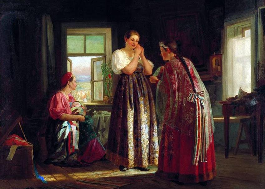 История бархата в России