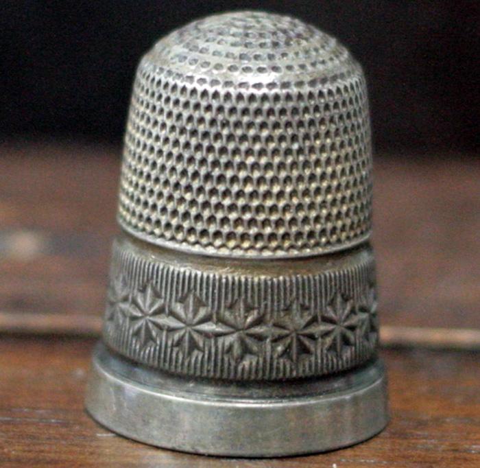 Наперсток из серебра