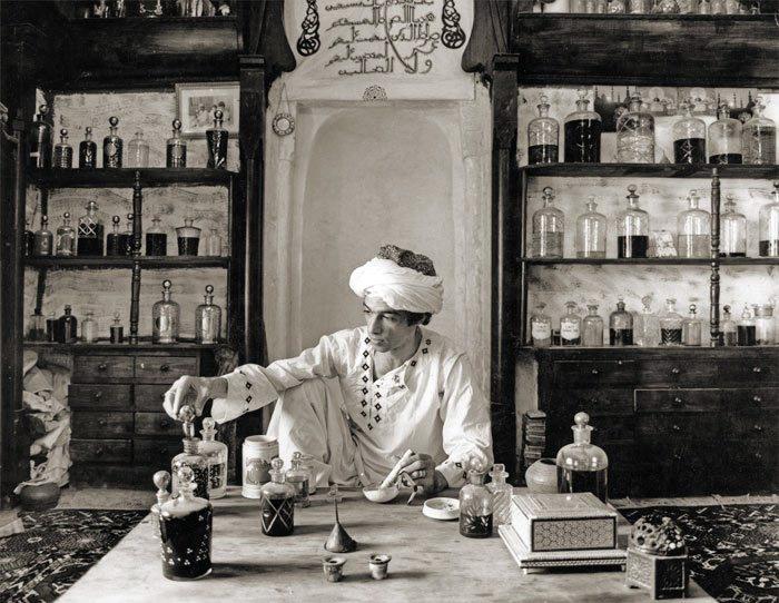 Арабская парфюмерия в истории